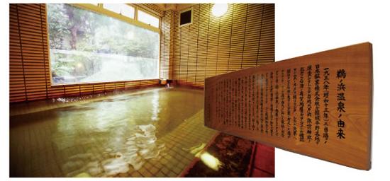 鵜の浜温泉の由来